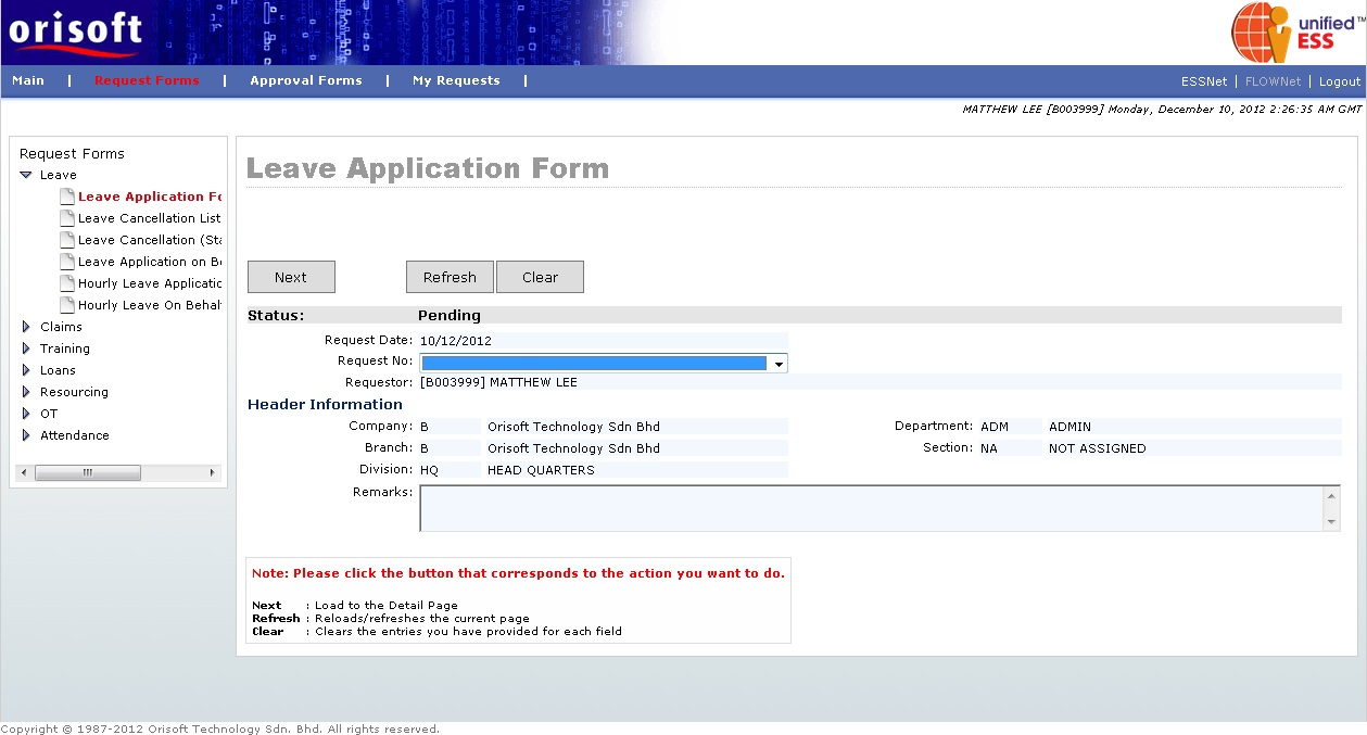 Doc7681024 Application for Leave Form Leave Request Form – Application for Leave Form